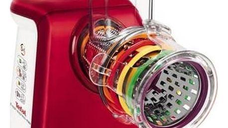 Elektrický strouhač Tefal FreshExpress Max MB813538 bílý/červený + Doprava zdarma