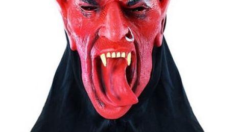 Strašidelná maska Čert