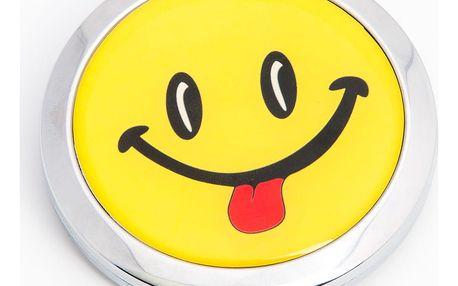 Kapesní kosmetické zrcátko Smile Vyplazení jazyka kovové