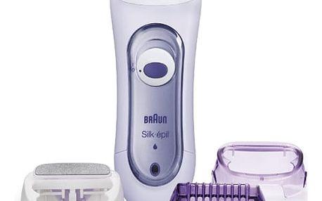 Depilátor Braun Silk&Soft LS5560 fialový