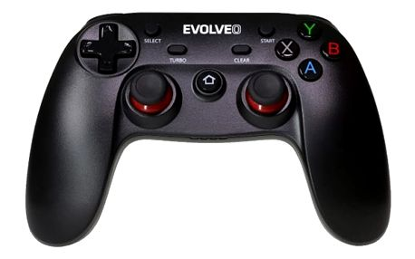 EVOLVEO Fighter F1, bezdrátový gamepad pro PC, PlayStation 3, Android box/smartphone - GFR-F1