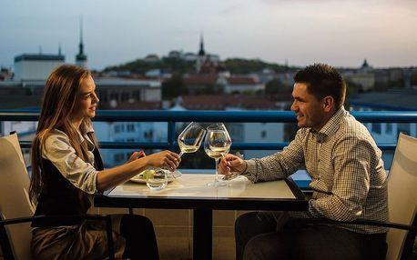 Degustační menu Brno Pětichodové degustační menu s vínem pro 4 osoby pětichodová romantická večeře