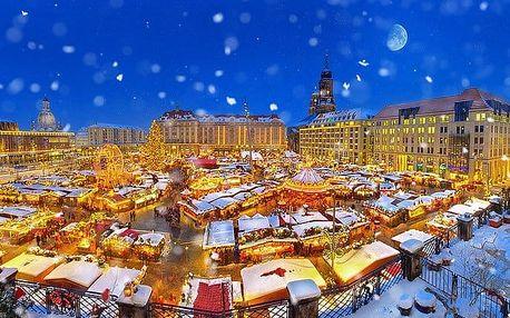 Celodenní zájezd pro 1 na vánoční trhy s návštěvou Primarku v Drážďanech