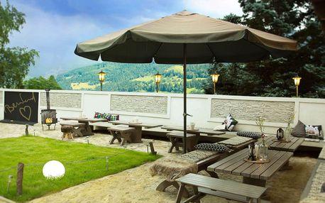 Podzim uprostřed rakouských Alp pro 2 osoby v horském penzionu