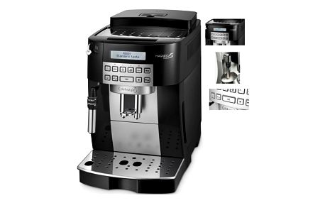Espresso DeLonghi Magnifica Plus ECAM 22.323.B černé + DOPRAVA ZDARMA