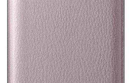 Pouzdro na mobil flipové Samsung pro Galaxy A3 2016 (EF-WA310P) (EF-WA310PZEGWW) růžové
