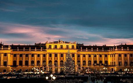 Adventní Schönbrunn a soutěska Johannesbachklamm