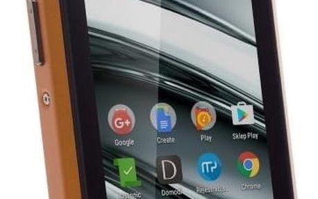 Mobilní telefon myPhone HAMMER IRON 2 Dual SIM (TELMYAHIRON2OR) černý/oranžový Software F-Secure SAFE 6 měsíců pro 3 zařízení v hodnotě 999 Kč + DOPRAVA ZDARMA