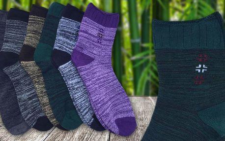 Dámské thermo ponožky