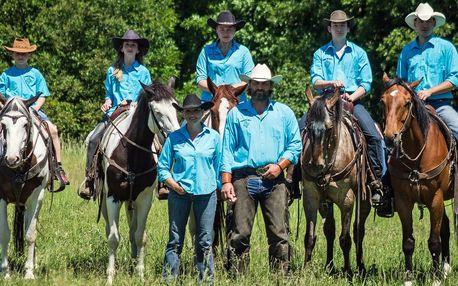 Hodinová westernová projížďka v koňském sedle