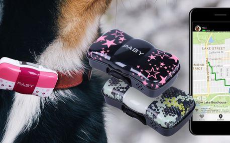 Paby GPS tracker pro kontrolu zvířecího miláčka
