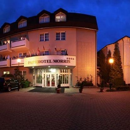 5denní pobyt pro dva v luxusním Parkhotelu Morris, polopenze, masáže, zábaly, sauna.