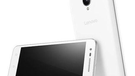 Mobilní telefon Lenovo C2 Power Dual SIM (PA450139CZ) bílý + Doprava zdarma