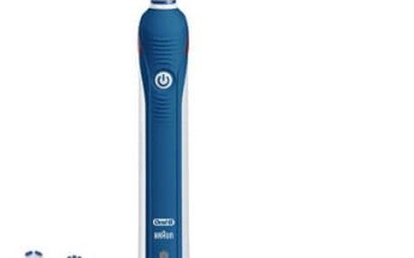 Zubní kartáček Oral-B Pro 4 000 modrý