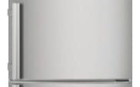 Kombinace chladničky s mrazničkou Electrolux EN3854NOX šedá/nerez