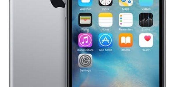 Mobilní telefon Apple iPhone 6s 32GB- Space Gray (MN0W2CN/A) + DOPRAVA ZDARMA