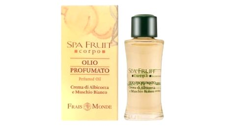 Frais Monde Spa Fruit Apricot And White Musk 10 ml parfémovaný olej pro ženy