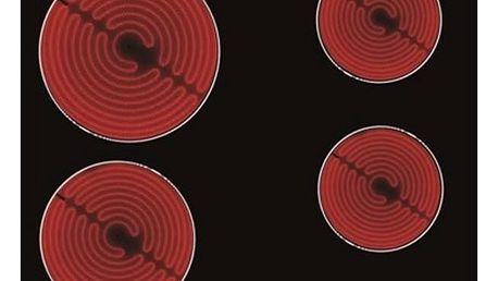 Sklokeramická varná deska Whirlpool AKT 8090/NE černá/sklo + Dny Marianne sleva 20% + Doprava zdarma