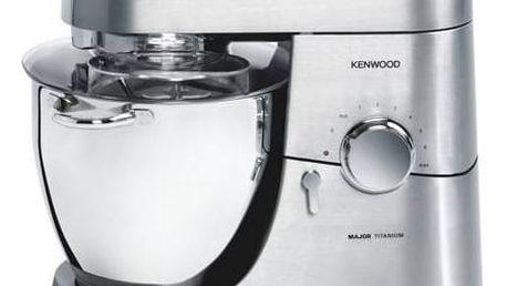 Kuchyňský robot Kenwood Major Titanium KMM063 + Dny Marianne sleva 25% + Doprava zdarma