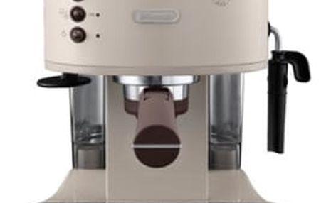 Espresso DeLonghi Icona Vintage ECOV 311.BG béžové