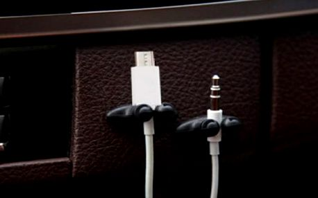 Upevňovače kabelů Nano 4 ks