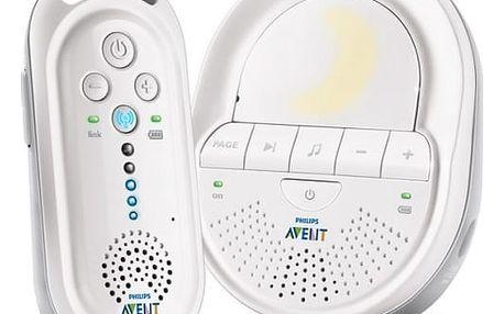 Dětská elektronická chůva Philips AVENT SCD506/52 s technologií DECT