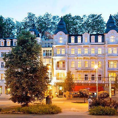 Hotel Excelsior****, Báječný wellness pobyt v luxusním historickém hotelu