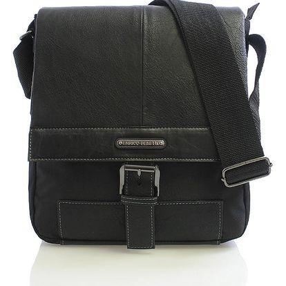 Černá taška přes rameno Enrico Benetti 4486 černá