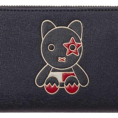 Tommy Hilfiger tmavě modrá peněženka Honey Mascot