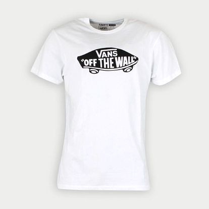 Tričko Vans Mn Otw White/Black Bílá