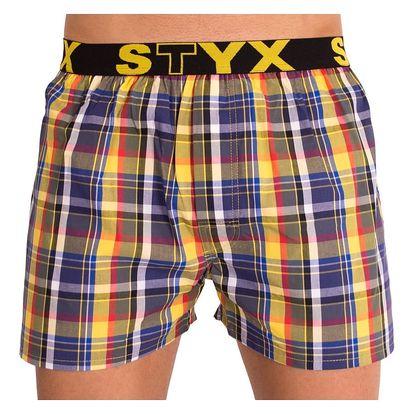 Pánské trenýrky STYX sport B614 kostka L