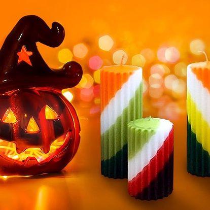 Tvoří malí i velcí: Svíčky a ozdoby na Halloween