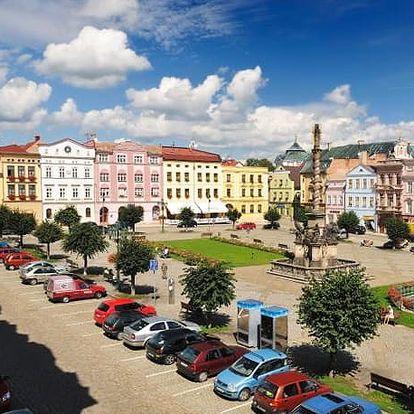 Hotel Praha***, Broumov - save 57%, Stylový hotel ze 16. století na náměstí v Broumově