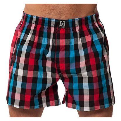 Pánské Trenky Horsefeathers Sin Boxer Shorts Red L