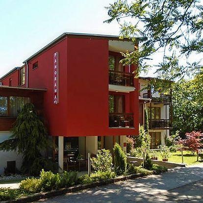 Hotel Panoráma***+, Komfortní hotel v klidném lesoparku blízko centra Piešťan