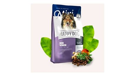 Granule HAPPY DOG MINI Senior 4 kg