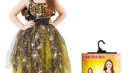 Dětský kostým Čarodějnice Halloween