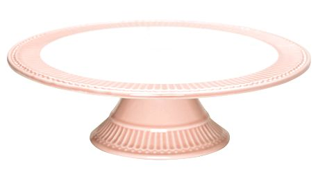 GREEN GATE Dortový stojan Alice Pale pink, růžová barva, keramika