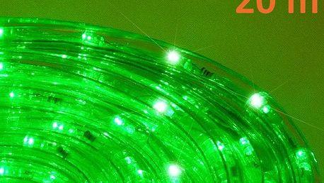 Nexos 552 LED světelný kabel 20 m - zelená, 480 diod