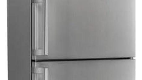 Kombinace chladničky s mrazničkou Whirlpool WNF8 T3Z X H nerez + Doprava zdarma