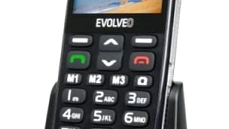 Mobilní telefon Evolveo EVOLVEO EasyPhone XD pro seniory (EP-600-XDB) černý