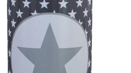 Krasilnikoff Termoska Grey star 500 ml, šedá barva, kov