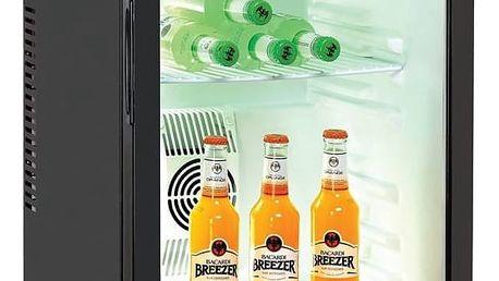 Chladící vitrína Guzzanti GZ 48GB černá + Doprava zdarma