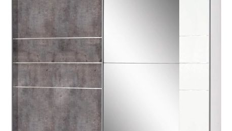 Skříň s posuvnými dveřmi stripe, 180/198/64 cm