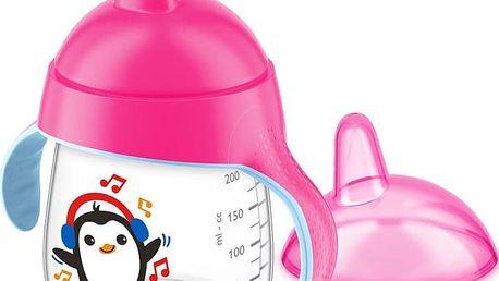 AVENT Hrneček pro první doušky Premium 260 ml - růžový