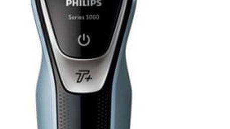 Holicí strojek Philips AquaTouch S5530/06 černý/modrý
