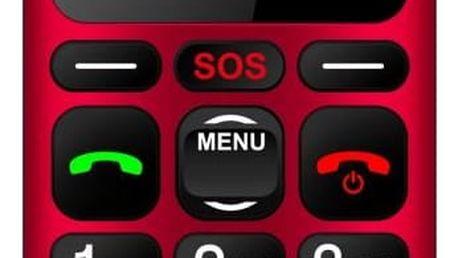 Mobilní telefon CPA Halo 16, červená
