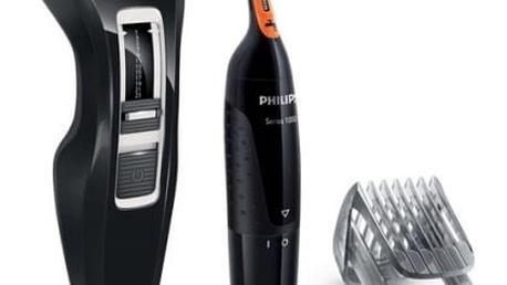Zastřihovač vlasů Philips Série 3000 dárkové balení HC3410/85 + NT1150/10