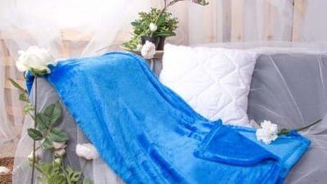 XPOSE ® Deka mikrovlákno - modrá 150x200 cm