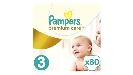 Plenky Pampers Premium Care 3 MIDI 80ks